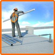 LifeLine - Bezpečnostné lanové dráhy proti pádu