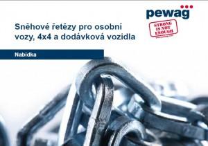 PEWAG Snehové retaze pre osobné autá a dodávky [CZ]