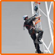 Práce vo výškach - postroje, laná a iné príslušenstvo